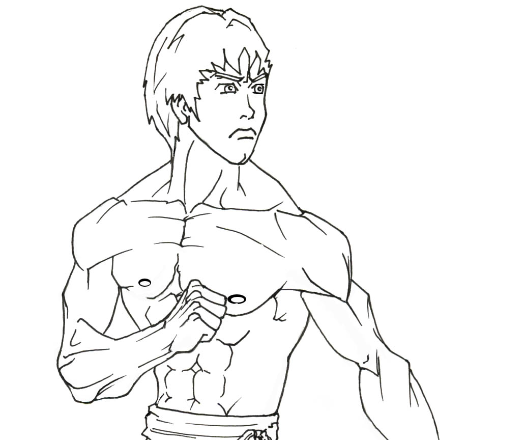 bruce lee coloring pages - photo#1